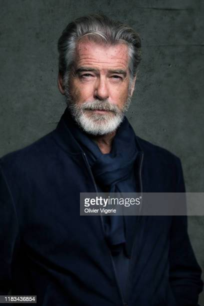 Actor Pierce Brosnan poses for a portrait on September 6, 2019 in Paris, France.