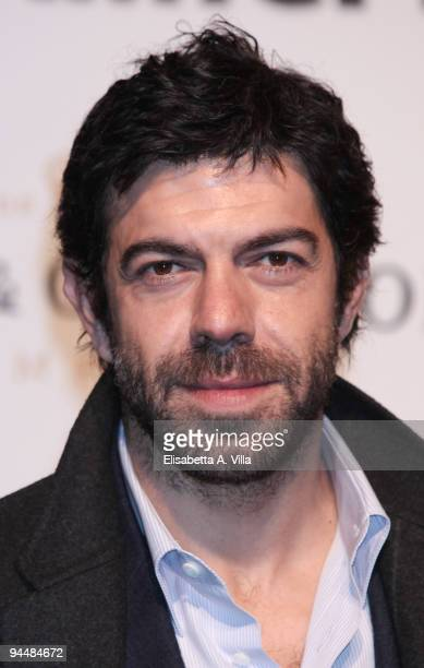 Actor Pierfrancesco Favino attends Gala Dinner In Favour Of Pietro Gamba Association at Officine Farneto on December 15 2009 in Rome Italy