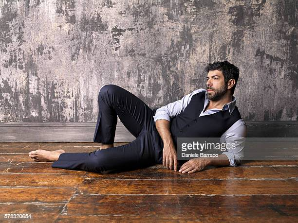 Actor Pierfrancesco Favino is photographed for Self Assignment in 2010.