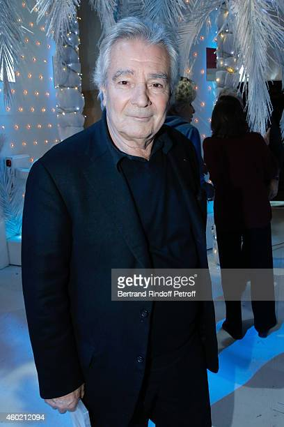 Actor Pierre Arditi presents the new season of TV Movies of 'Le Sang de la vigne' during the 'Vivement Dimanche' French TV Show at Pavillon Gabriel...