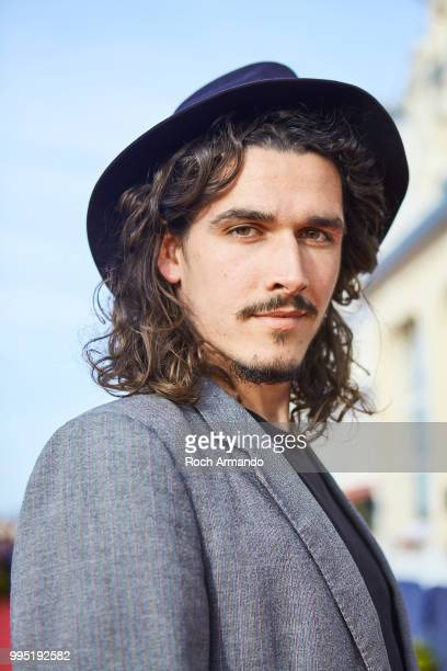 Actor Pierre Boulanger is photographed for Self Assignment on June 2018 in Cabourg France