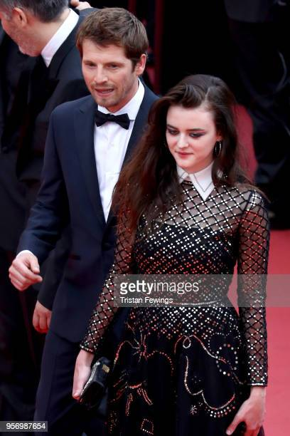Actor Pierre Deladonchamps and actress Adele Wismes attend the screening of 'Sorry Angel ' during the 71st annual Cannes Film Festival at Palais des...