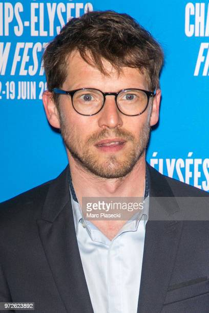Actor Pierre Deladonchamps attends the 7th Champs Elysees Film Festival at Cinema Gaumont Marignan on June 12 2018 in Paris France
