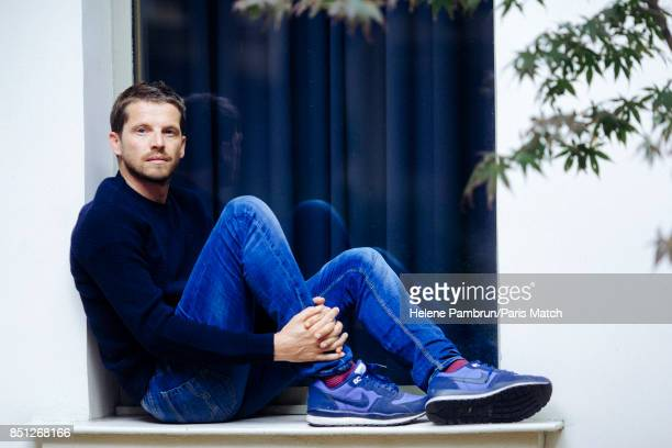 Actor Pierre Deladonchamps is photographed for Paris Match on August 31 2017 in Paris France