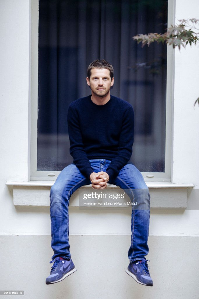Actor Pierre Deladonchamps is photographed for Paris Match on August 31, 2017 in Paris, France.