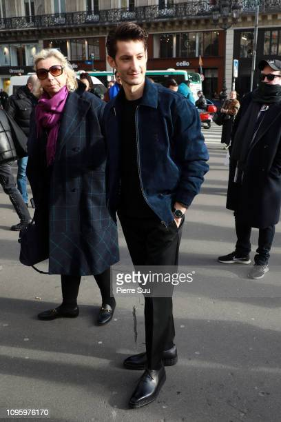 Actor Pierre Niney arrives at the Berluti Menswear Fall/Winter 20192020 show as part of Paris Fashion Week on January 18 2019 in Paris France