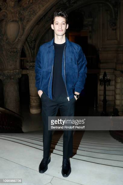 Actor Pierre Niney attends the Berluti Menswear Fall/Winter 20192020 show as part of Paris Fashion Week on January 18 2019 in Paris France