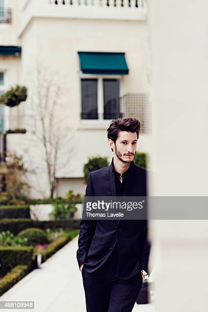 Actor Pierre Niney is photographed for Gala on March 9 2015 in Paris France