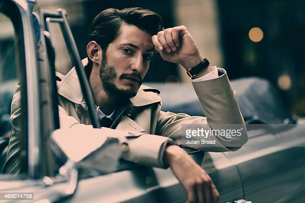 Actor Pierre Niney is photographed for GQ magazine on September 5 2014 in Paris France