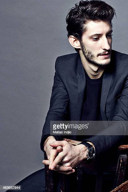 Actor Pierre Niney is photographed for Self Assignment on February 3 2015 in Paris France