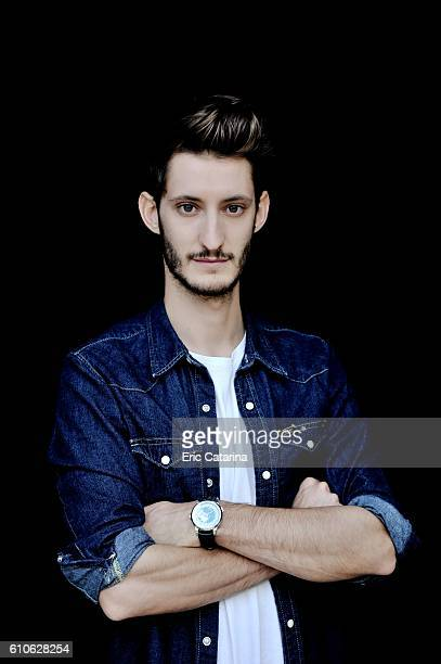 Actor Pierre Niney is photographed for Self Assignment on September 23 2016 in San Sebastian Spain