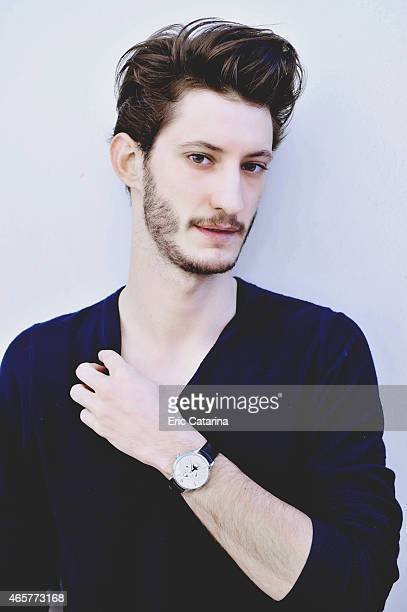 Actor Pierre Niney is photographed on March 6 2015 in Montpellier France