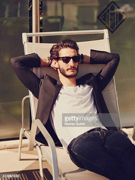 Actor Pierre Niney is photographed on May 16 2015 in Cannes France