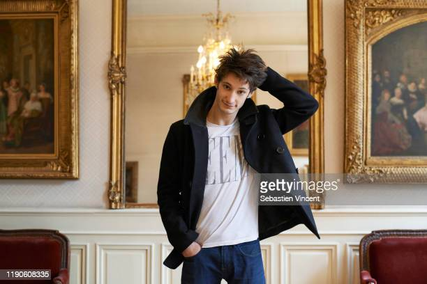 Actor Pierre Niney poses for a portrait on November 22, 2012 in Paris, France.