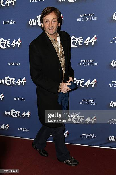 Actor Pierre Palmade attends 'Un Ete 44' Theater Play at Le Comedia on November 9 2016 in Paris France