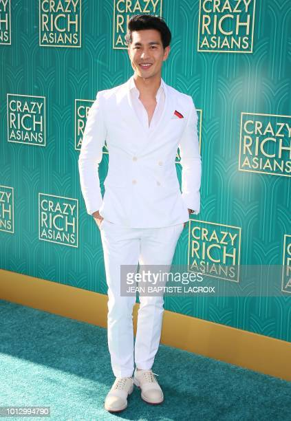 Actor Pierre Png attends the premiere of Warner Bros Pictures' 'Crazy Rich Asians' in Hollywood California on August 7 2018
