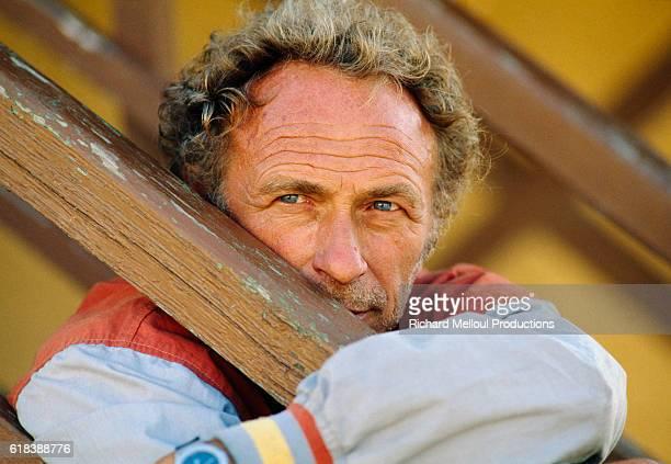 Actor Pierre Richard at His Vineyard