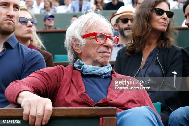 Actor Pierre Richard attends the 2017 French Tennis Open Day Seven at Roland Garros on June 3 2017 in Paris France