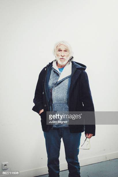 Actor Pierre Richard is photographed for Telerama on March 2016 in Paris France