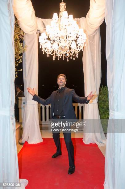 Actor Pierson Fode poses for a photo at the 'The Bold and The Beautiful' 30th Anniversary Party during the 57th Monte Carlo TV Festival Day 3 on June...
