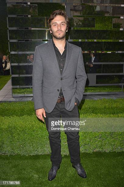 Actor Pio Marmai attends the Berluti Menswear Spring/Summer 2014 show as part of the Paris Fashion Week on June 28 2013 in Paris France