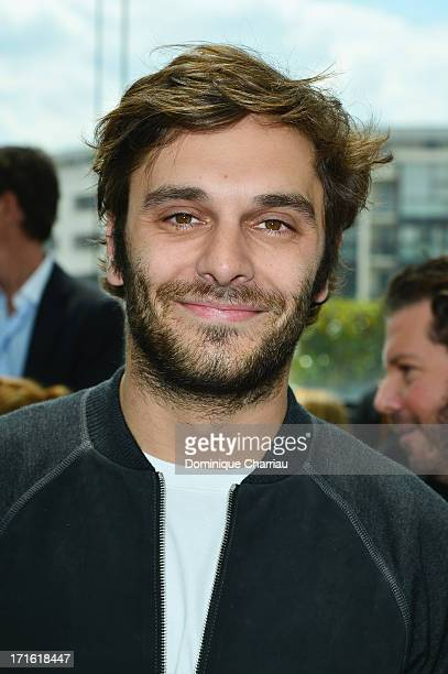 Actor Pio Marmai attends the Louis Vuitton Menswear Spring/Summer 2014 show as part of the Paris Fashion Week on June 27 2013 in Paris France