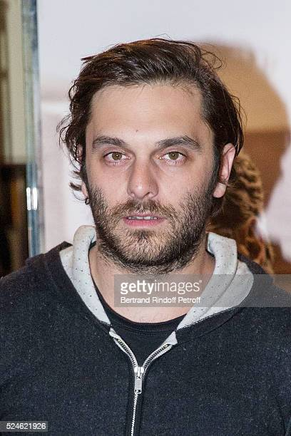 Actor Pio Marmai attends 'Vendeur' Paris Premiere At UGC Cine Cite Les Halles on April 26 2016 in Paris