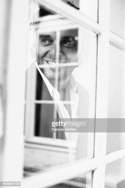 Actor Pio Marmai is photographed on September 9 2017 in Deauville France