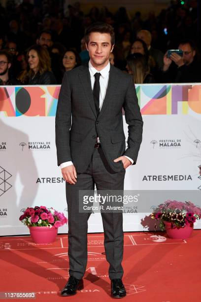 Actor Pol Monen attends the 'Retrospeciva' award ceremony during the 22th Malaga Film Festival on March 22 2019 in Malaga Spain