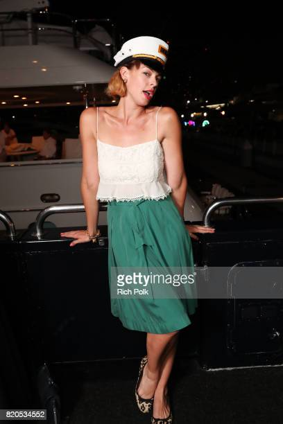 Actor Pollyanna McIntosh attends the #IMDboat Party at San Diego ComicCon 2017 Presented By XFINITY on The IMDb Yacht on July 21 2017 in San Diego...