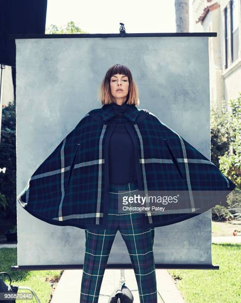 Actor Pollyanna McIntosh is photographed for House of Solo magazine on September 30 2017 in Los Angeles California