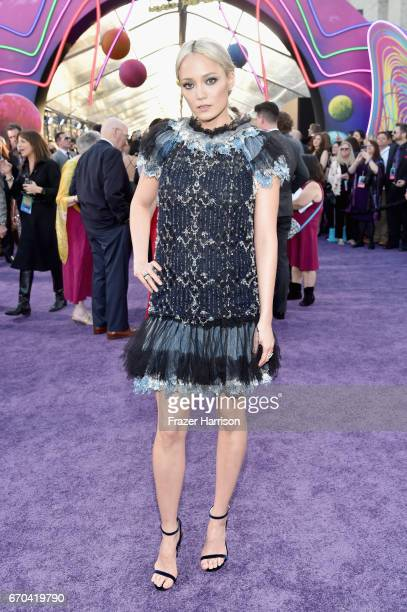Actor Pom Klementieff at the premiere of Disney and Marvel's 'Guardians Of The Galaxy Vol 2' at Dolby Theatre on April 19 2017 in Hollywood California