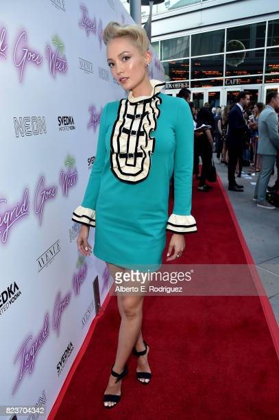 Actor Pom Klementieff at the premiere of Neon's 'Ingrid Goes West' at ArcLight Hollywood on July 27 2017 in Hollywood California