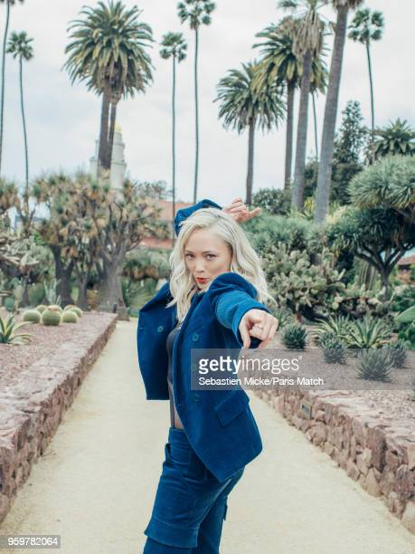 Actor Pom Klementieff is photographed for Paris Match on April 30 2018 in Los Angeles California