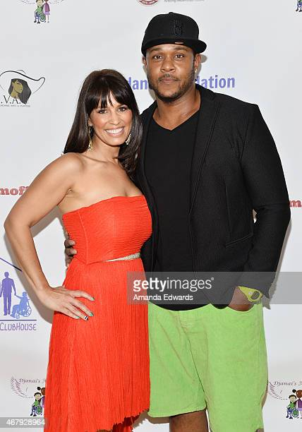 Actor Pooch Hall and his wife Linda Hall arrive at the Djanai's Angels Special Needs Family Prom supporting inCLUSION Clubhouse with the cast of Ray...