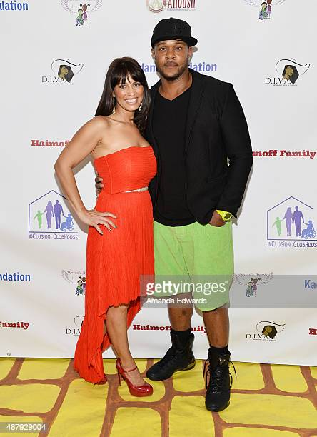 Actor Pooch Hall and his wife Linda Hall arrive at the Djanai's Angels Special Needs Family Prom supporting inCLUSION Clubhouse with the cast of 'Ray...