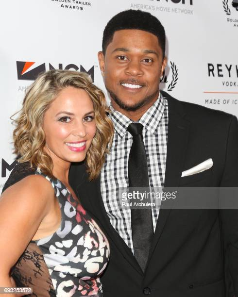Actor Pooch Hall and his Wife Linda Hall attend the 18th Annual Golden Trailer Awards at The Saban Theatre on June 6 2017 in Beverly Hills California