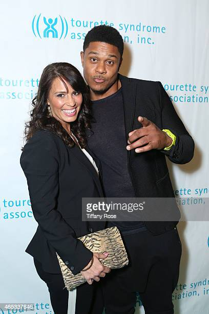 Actor Pooch Hall and his wife Linda Hall attend the Second Annual Hollywood Heals Spotlight On Tourette Syndrome at House of Blues Sunset Strip on...