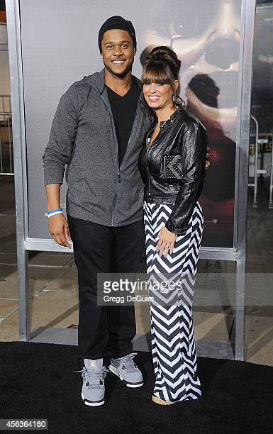 Actor Pooch Hall and wife Linda Hall arrive at the Los Angeles Special Screening Of New Line Cinema's 'Annabelle' at TCL Chinese Theatre on September...