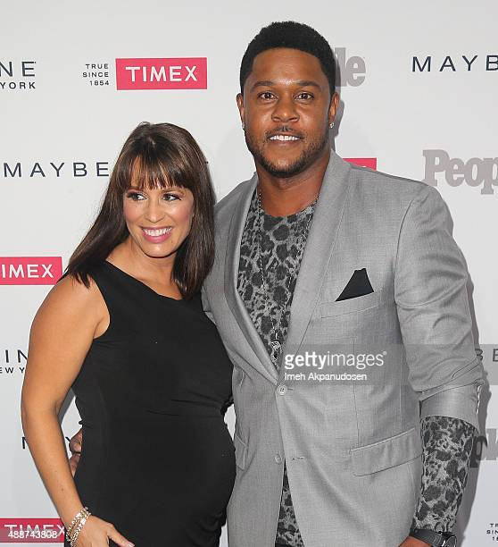 Actor Pooch Hall and wife Linda Hall attend People's 'One To Watch' Event at Ysabel on September 16 2015 in West Hollywood California