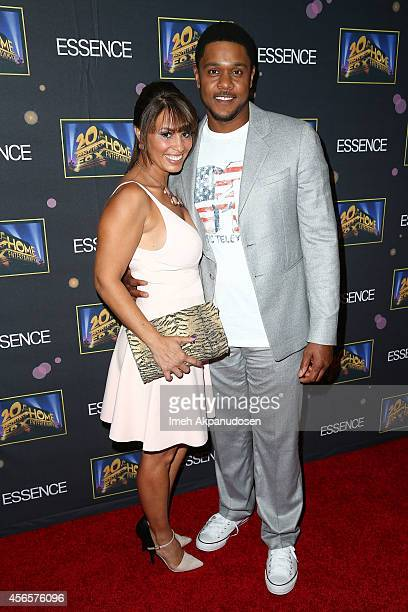 Actor Pooch Hall and wife Linda Hall attend the Essence 'A Toast To Primetime' event at Herringbone Mondrian LA on October 2 2014 in Beverly Hills...