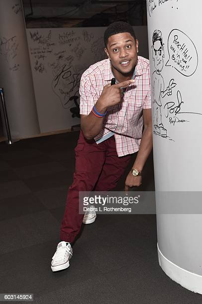 Actor Pooch Hall at The BUILD Series Presents Pooch Hall Discussing His Hit Showtime show 'Ray Donovan' AOL HQ on September 12 2016 in New York City
