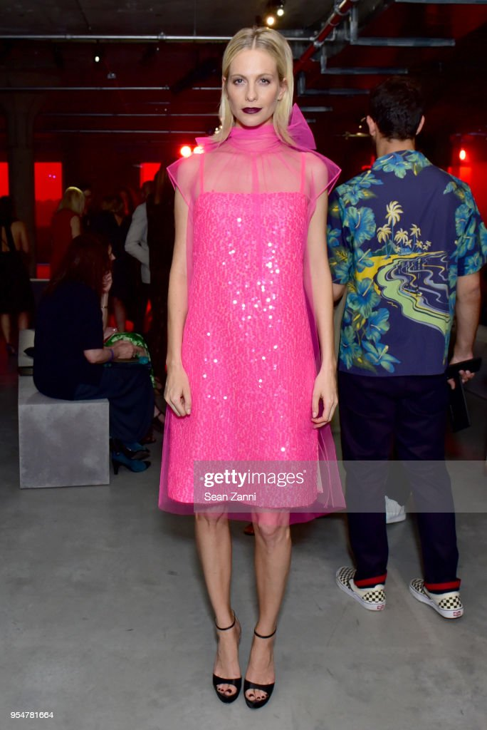 Actor Poppy Delevingne attends the Prada Resort 2019 fashion show on May 4, 2018 in New York City.