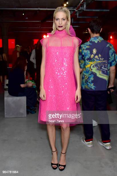 Actor Poppy Delevingne attends the Prada Resort 2019 fashion show on May 4 2018 in New York City