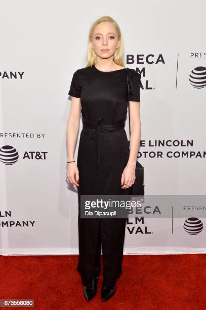 Actor Portia Doubleday attends the Buster's Mal Heart Premiere during 2017 Tribeca Film Festival on April 26 2017 in New York City