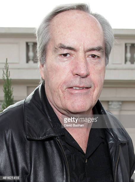 Actor Powers Boothe attends the DPA PreGolden Globe Awards Gift Suite at the Luxe Hotel on January 9 2014 in Beverly Hills California