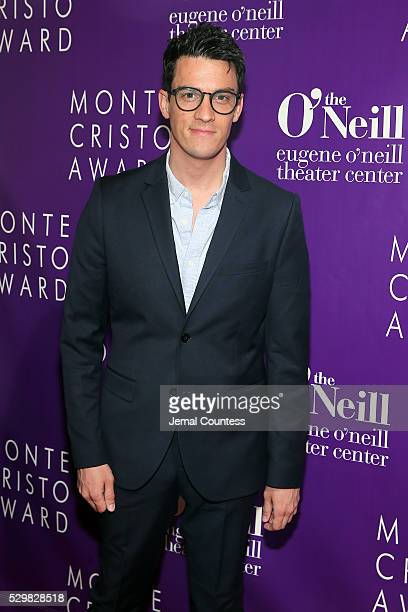 Actor Preston Sadleir attends the 16th Annual Monte Cristo Award ceremony honoring George C Wolfe presented by The Eugene O'Neill Theater Center at...