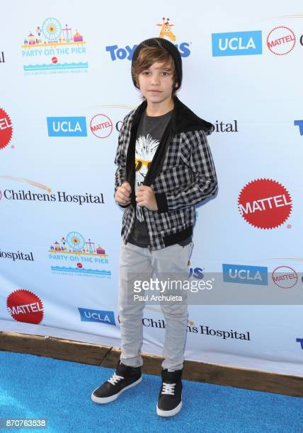 Actor Prestyn Bates attends the 18th annual Mattel Party On The Pier at Pacific Parkâ Santa Monica Pier on November 5 2017 in Santa Monica California