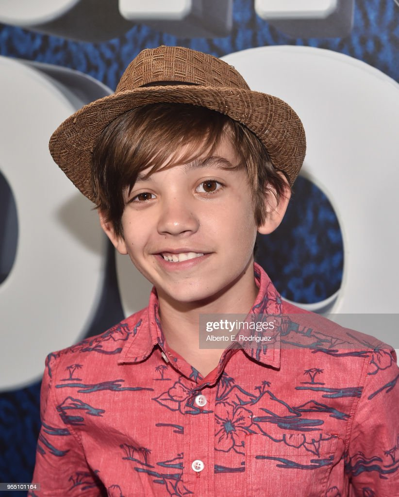 Actor Prestyn Bates attends the premiere of Global Road Entertainment's 'Show Dogs' at The TCL Chinese 6 Theatres on May 5, 2018 in Hollywood, California.