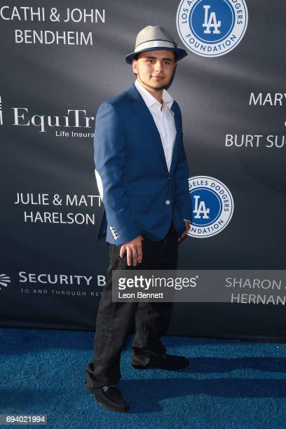 Actor Prince Michael Jackson attends the Los Angeles Dodgers Foundation's 3rd Annual Blue Diamond Gala at Dodger Stadium on June 8 2017 in Los...